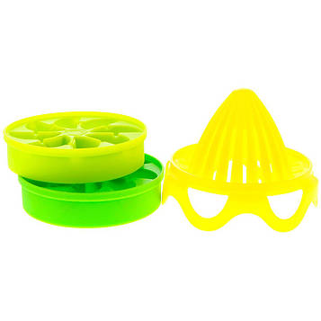 Full Circle, Lemon Drops, Citrus Ice Cube Infuser Set