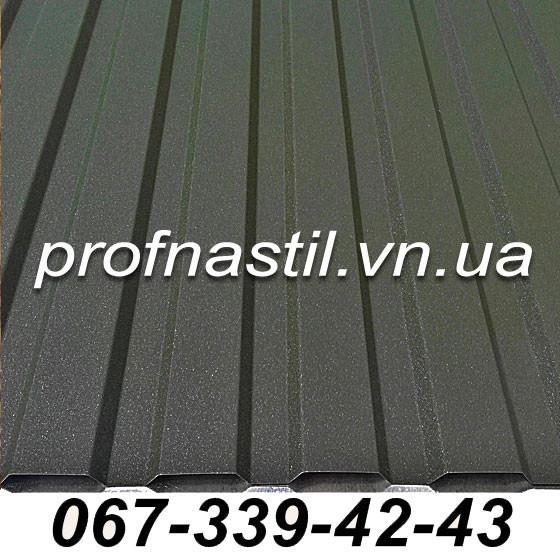 Профнастил 0,42 темно-зеленый ПС-12 RAL 6020 Винница