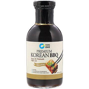 Chung Jung One, Высококлассный корейский соус для барбекю и маринад, оригинальный, 14,5 унц. (411 г)