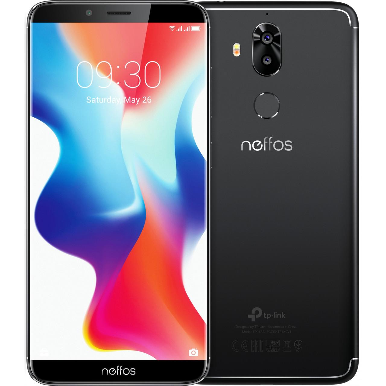 """Смартфон TP-Link Neffos X9 3/32GB 6"""" Space Black (TP913A56UA)"""