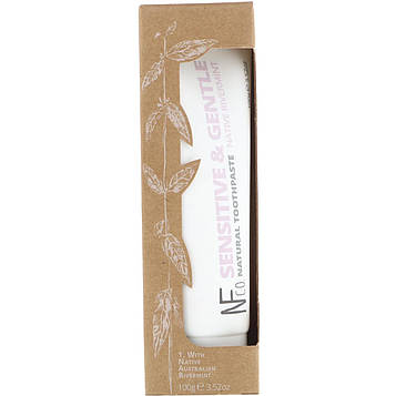 The Natural Family Co., Sensitive & Gentle Natural Toothpaste, Native Rivermint, 3.52 oz (100 g)