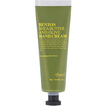 Benton, Shea Butter and Olive, Hand Cream, 1.76 oz (50 g)