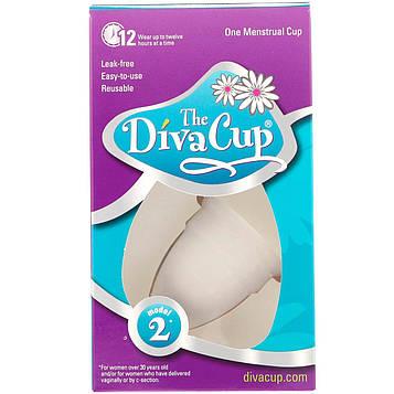 Diva International, Diva Cup, Модель 2, 1 менструальная чаша