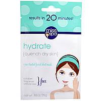 Miss Spa, Гидратируйтесь, 1 предварительно обработанная салфетка для маски на лицо