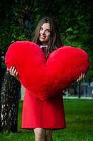 Мягкая игрушка подушка сердце 30 см 100 см, фото 1