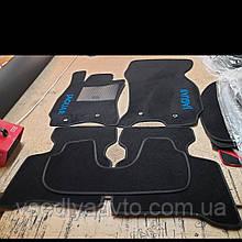 Ворсовые коврики в салон Jaguar X-Type (2001-2009)
