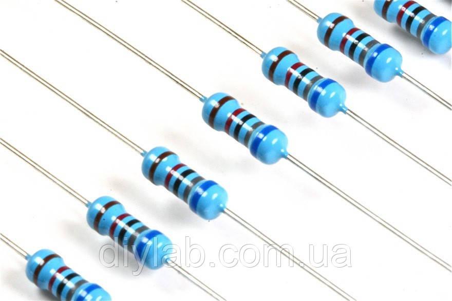 Резистори 100 Ом 0,25Вт 5% 10шт