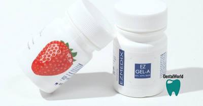 Гель анестетик, аппликационная анестезия, EZMEDIX Клубника