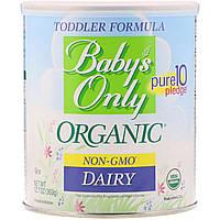 Nature's One, Baby's Only Organic, детская смесь, молочная, 360 г