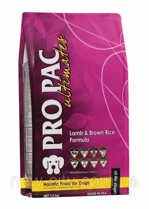 Pro Pac Dog Lamb & Brown Rice Formula для взрослых собак всех пород и возрастов (ягненок и рис) 2.5кг