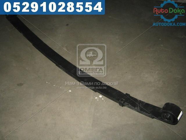 Рессора передн. ГАЗ 3302 4-лист. усилен. 1588мм с сайлент. (производство  Чусовая)  3302-2902012-01-10