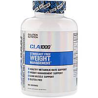 EVLution Nutrition, КЛК 1000, стимулятор для свободной оптимизации веса, 180 мягких таблеток