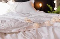 Комплект постельного белья страйп-сатин люкс