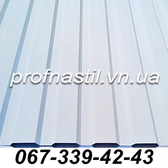 Профнастил белый ПС-12 RAL 9003 Винница