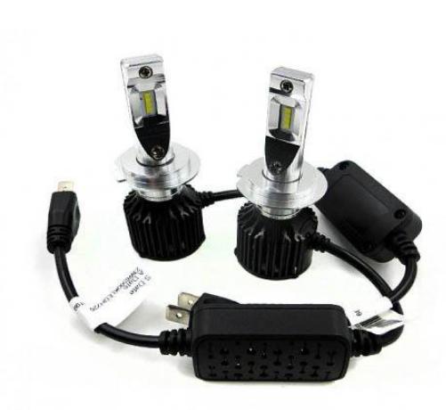 Лампы светодиодные ALed R H7 6000K 4000 Lm 2шт (JS-23847)