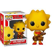 Фигурка Funko Pop Фанко Поп Симпсоны Лиза с саксофоном The Simpsons Lisa with Saxophone 10 см SKL38-222929
