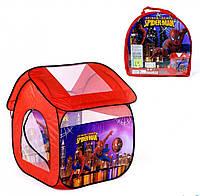 Детская игровая палатка Человек паук - отличный подарок для мальчика от 3 лет