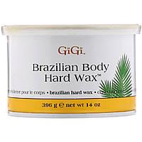 Gigi Spa, Твердый воск для бразильской эпиляции Brazilian Body Hard Wax, 396г