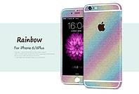 Пленка с блестками для iPhone 6 6S Plus, фото 1