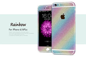Пленка с блестками для iPhone 6 6S Plus