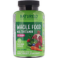 NATURELO, Whole Food Multivitamin for Women, 120 Vegetarian Capsules, официальный сайт