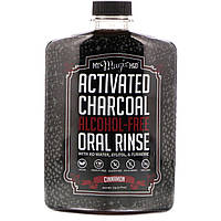 My Magic Mud, Активированный уголь, средство для полоскания полости рта, без спирта, со вкусом корицы, 14,20 ж. унц. (420 мл)
