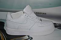 Женские повседневные кроссовки NIKE Air Force 1 White белые