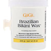 Gigi Spa, Воск для бразильской эпиляции Brazilian Bikini Wax, разогревается в микроволновой печи, 226г
