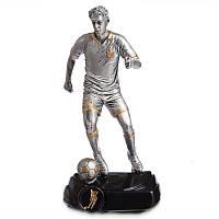 Статуэтка (фигурка) наградная спортивная Футбол Футболист (12х9х23см) HX1695-A1