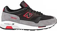 Мужские кроссовки New Balance 1500 в серо-черном цвете