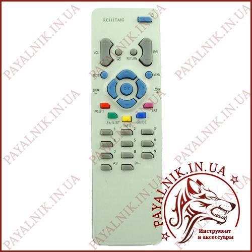 Пульт дистанционного управления для телевизора THOMSON (модель RC-111TA1G) (PH1910)