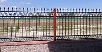 Забор с элементами ковки 26