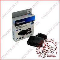 Автомобільний розгалужувач прикурювача Olesson № 1636 12-24V 100W 3 гнізда, 3 тумблера + 2 USB