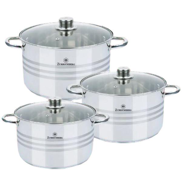 Набор Кухонной посуды Zurrichberg Kochgeschirr ZBP 7020, 6 предметов