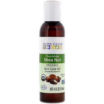 Aura Cacia, Organic, Skin Care Oil, Shea Nut, 4 fl oz (118 ml)