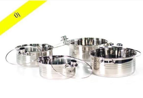 Набор Кухонной посуды Zurrichberg Kochgeschirr ZBP 7004, 8 предметов