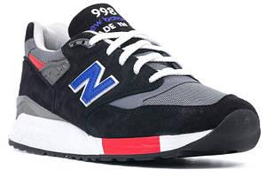 Мужские Кроссовки New Balance 998 в черном цвете