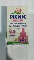 """Жидкость """"Picnic Baby"""" защита от комаров 30 мл. (45 ночей) код 695"""