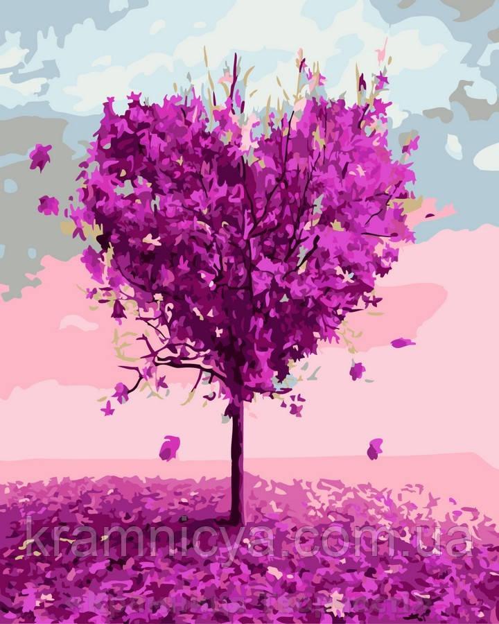 Картина по номерам Brushme 40х50 Дерево любви (GX7460)