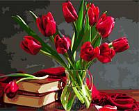 Картина по номерам Brushme 40х50 Букет тюльпанов (GX8115), фото 1