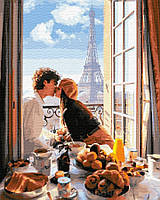 Картина по номерам Brushme 40х50 Свидание в Париже (GX32317), фото 1