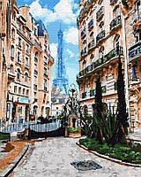 Картина по номерам Brushme 40х50 Вид на Ейфеливу башню (GX32318), фото 1