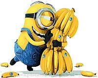 Картина по номерам Brushme 40х50 Миньоны Банана (GX21626), фото 1