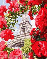Картина по номерам Brushme 40х50 Париж в цветах (GX32312), фото 1