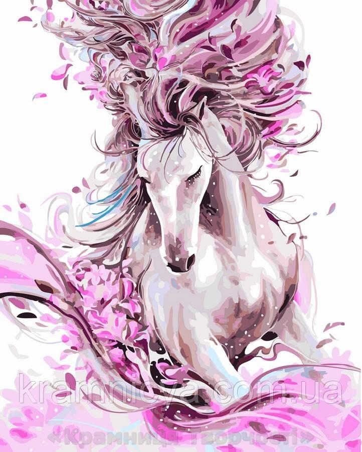 Картина по номерам Brushme 40х50 Изящная лошадь (GX22388)