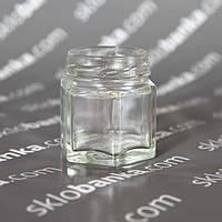 Банка стеклянная твист 0,05 л то-43 шестигранная 53 шт.