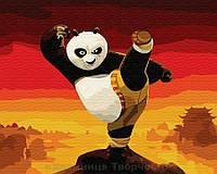 Картина по номерам Brushme 40х50 Кунг-фу Панда (GX9970), фото 1