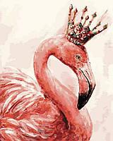 Картина по номерам Brushme 40х50 Королевский фламинго (GX4352), фото 1