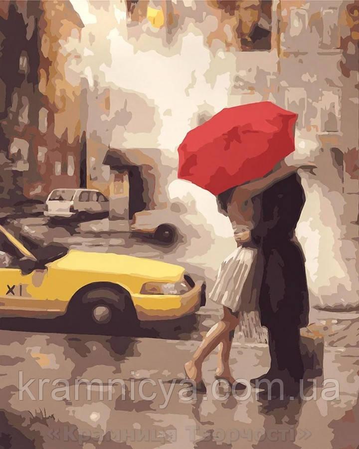 Картина по номерам Brushme 40х50 Любовь в Нью-Йорке (GX7473)