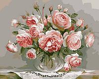 Картина по номерам Brushme 40х50 Розы на столике (G436), фото 1